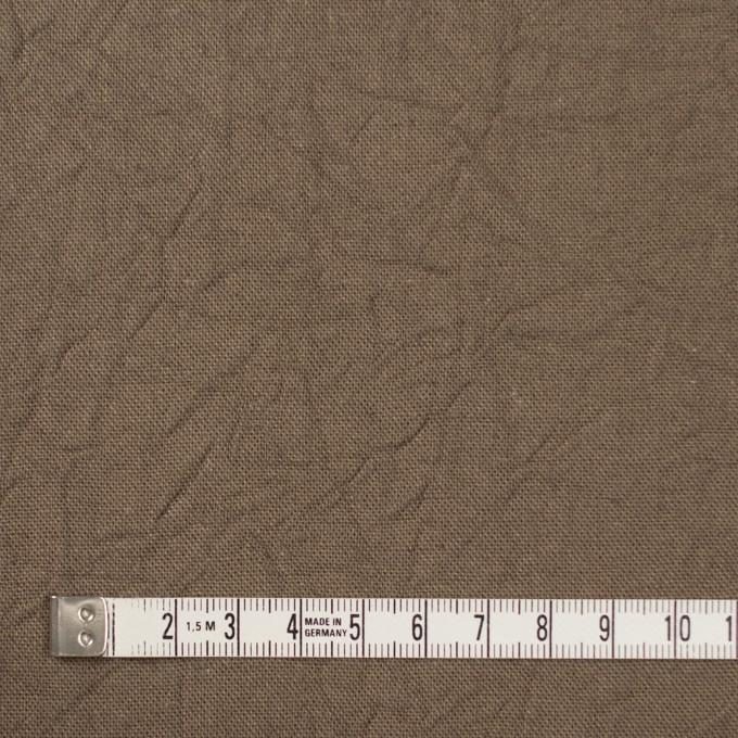 コットン&リネン×無地(カーキベージュ)×キャンバスワッシャー_全15色 イメージ4