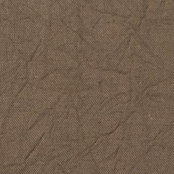 コットン&リネン×無地(カーキベージュ)×キャンバスワッシャー_全15色 サムネイル1