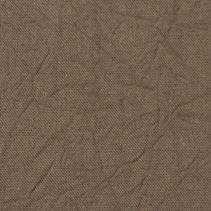 コットン&リネン×無地(カーキベージュ)×キャンバスワッシャー_全15色 イメージ1