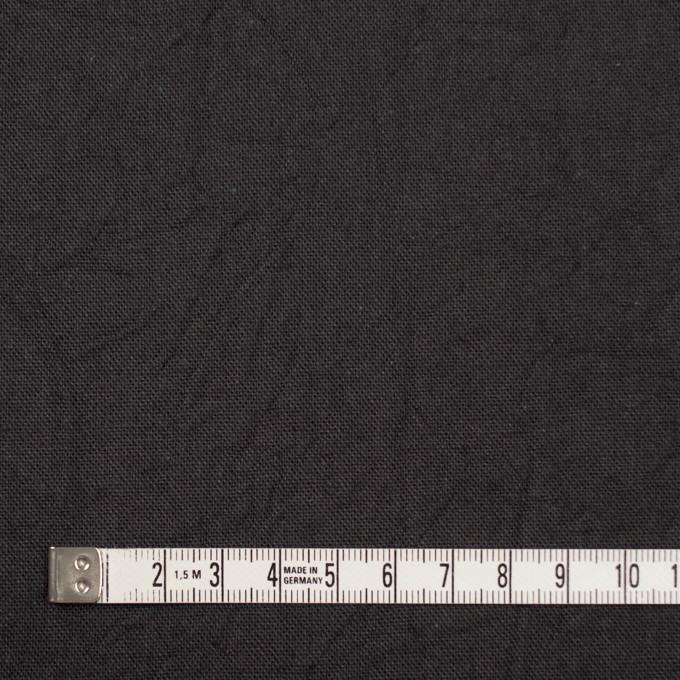 コットン&リネン×無地(チャコールグレー)×キャンバスワッシャー_全15色 イメージ4