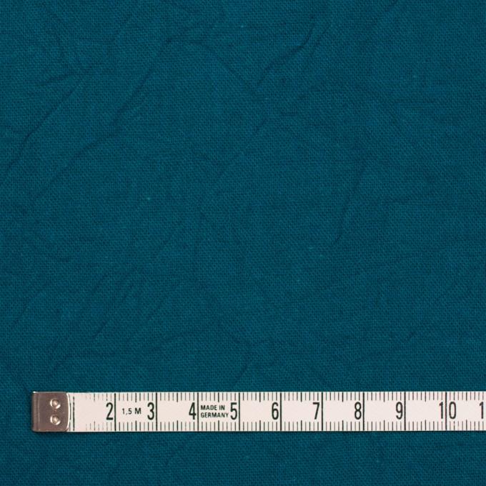 コットン&リネン×無地(アカプルコブルー)×キャンバスワッシャー_全15色 イメージ4