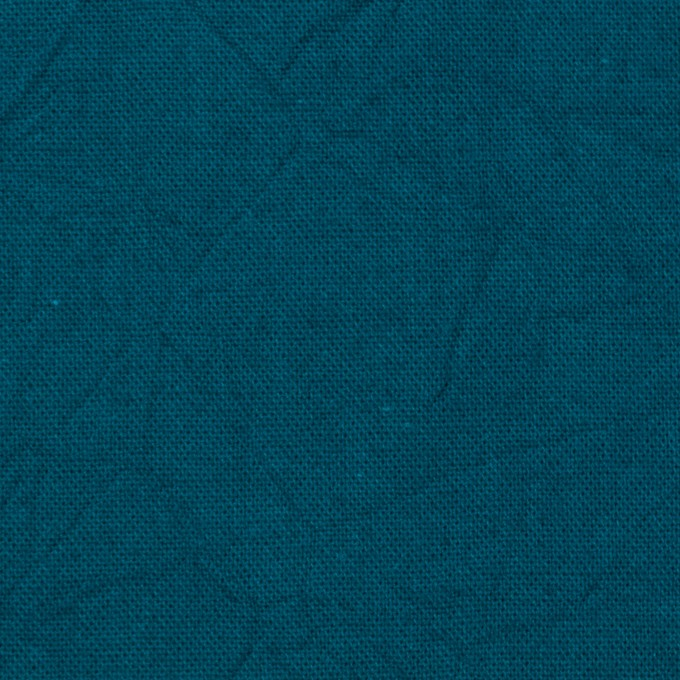 コットン&リネン×無地(アカプルコブルー)×キャンバスワッシャー_全15色 イメージ1