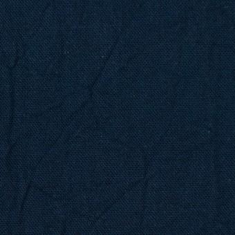 コットン&リネン×無地(ネイビー)×キャンバスワッシャー_全15色 サムネイル1