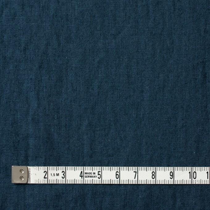 リネン&コットン×無地(アイアンネイビー)×シーチング_全36色 イメージ4