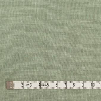 リネン×無地(セージグリーン)×薄キャンバス_全25色 サムネイル4