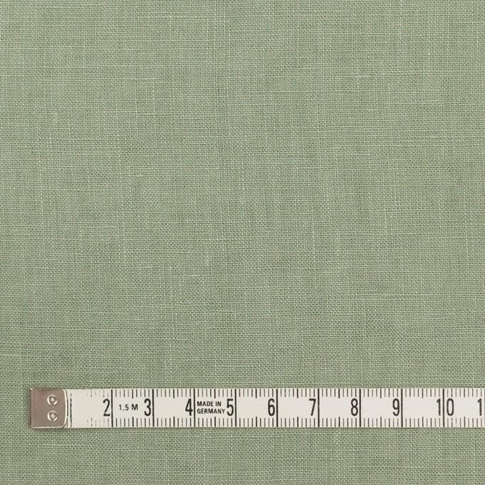 リネン×無地(セージグリーン)×薄キャンバス_全25色 イメージ4