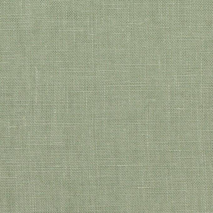 リネン×無地(セージグリーン)×薄キャンバス_全25色 イメージ1