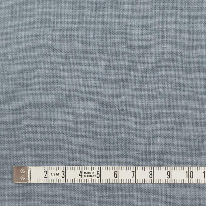 リネン×無地(ブルーグレー)×薄キャンバス_全25色 イメージ4
