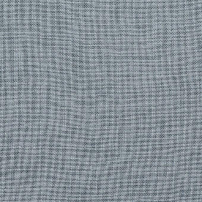 リネン×無地(ブルーグレー)×薄キャンバス_全25色 イメージ1
