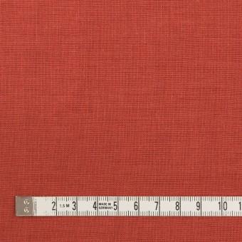 リネン×無地(トマト)×薄キャンバス_全25色 サムネイル4