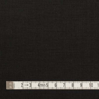 リネン×無地(ブラック)×薄キャンバス_全25色 サムネイル4