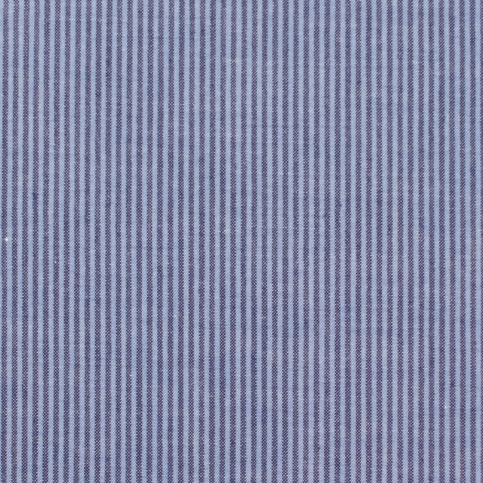 コットン×ストライプ(ブルーグレー)×ブロード イメージ1