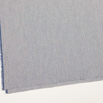 シルク&コットン×ストライプ(ブルー)×コードレーン サムネイル2