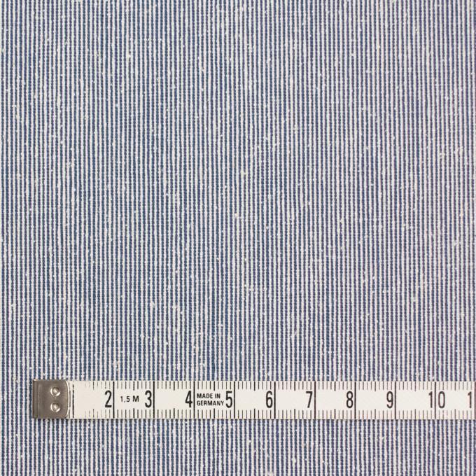シルク&コットン×ストライプ(ブルー)×コードレーン イメージ4