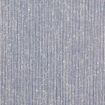 シルク&コットン×ストライプ(ブルー)×コードレーン サムネイル1