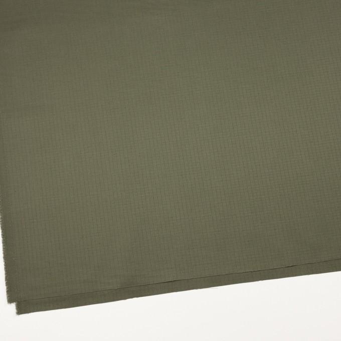 コットン×無地(カーキグリーン)×リップストップ_全3色 イメージ2