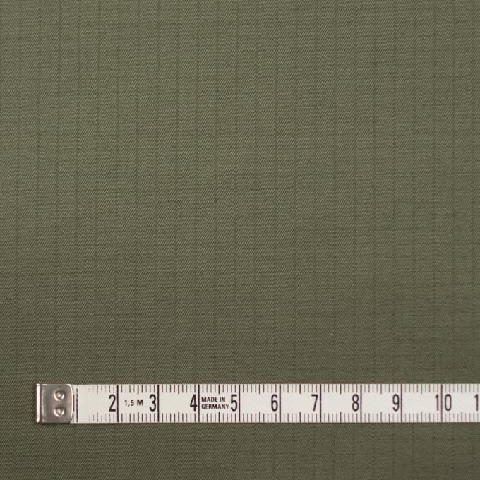 コットン×無地(カーキグリーン)×リップストップ_全3色 イメージ4