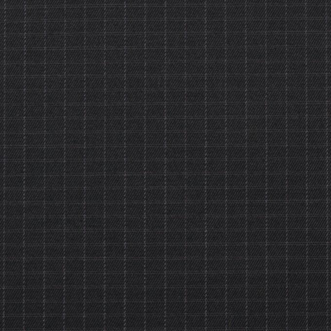 コットン×無地(チャコールブラック)×リップストップ_全3色 イメージ1