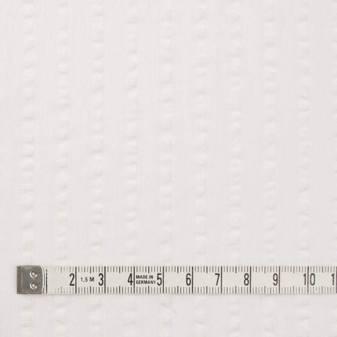 コットン&レーヨン×無地(オフホワイト)×サッカー イメージ4