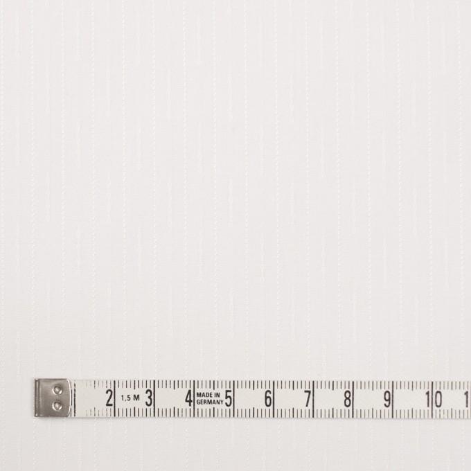 コットン&レーヨン×ストライプ(オフホワイト)×ブロードジャガード イメージ4