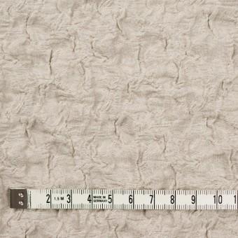 コットン&ナイロン混×無地(グレイッシュベージュ)×シャーリングメッシュニット_全4色 サムネイル4