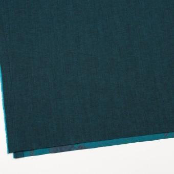 コットン&ポリエステル混×無地&フラワー(ターコイズ)×デニムストレッチ_バックプリント_全4色 サムネイル2