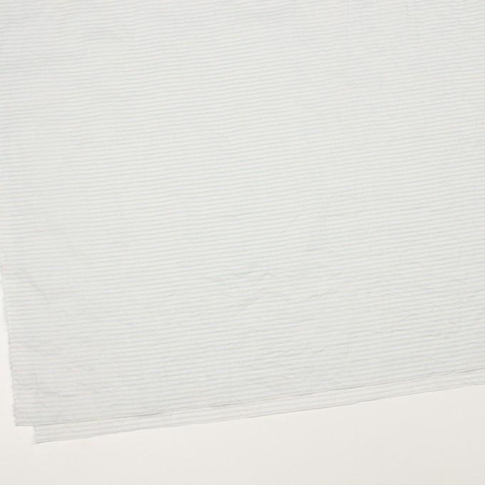 コットン×ボーダー(サックス)×ボイルワッシャー_全2色 イメージ2