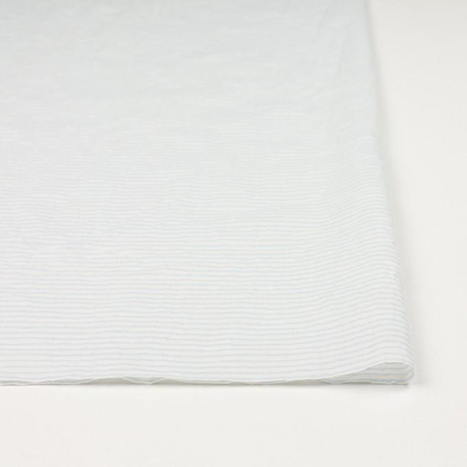 コットン×ボーダー(サックス)×ボイルワッシャー_全2色 イメージ3
