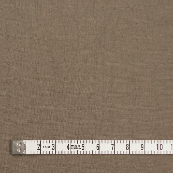 コットン×無地(カーキベージュ)×キャンブリックワッシャー_全15色 イメージ4