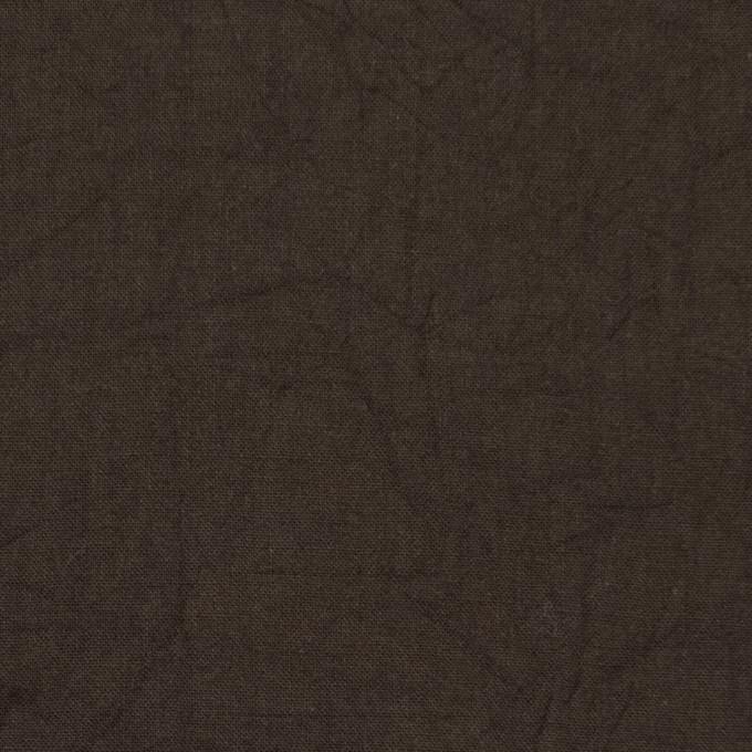 コットン×無地(カーキブラウン)×キャンブリックワッシャー_全15色 イメージ1