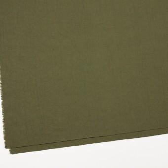 コットン×無地(カーキグリーン)×キャンブリックワッシャー_全15色 サムネイル2