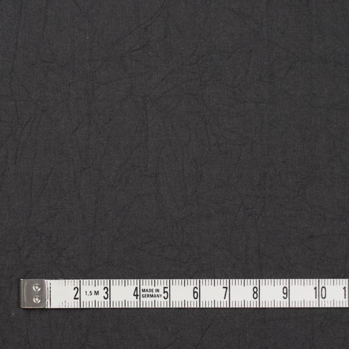 コットン×無地(チャコールグレー)×キャンブリックワッシャー_全15色 イメージ4