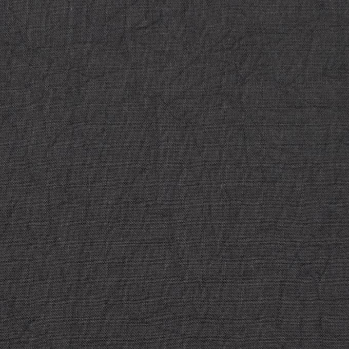 コットン×無地(チャコールグレー)×キャンブリックワッシャー_全15色 イメージ1