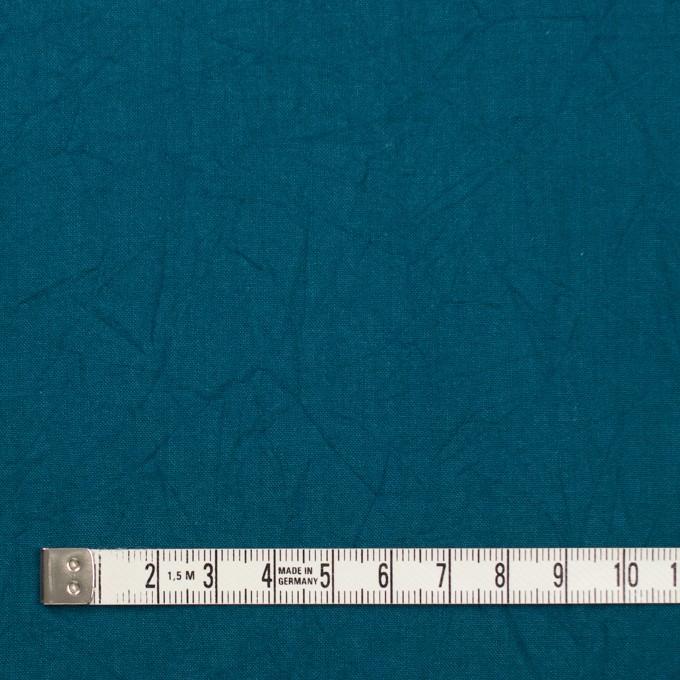 コットン×無地(アカプルコブルー)×キャンブリックワッシャー_全15色 イメージ4