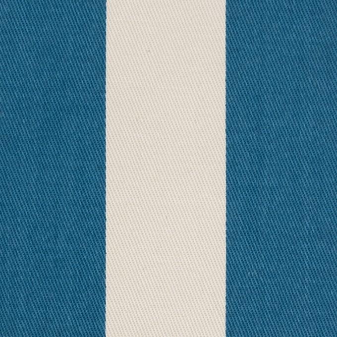 コットン×ストライプ(アイボリー&アッシュブルー)×チノクロス イメージ1