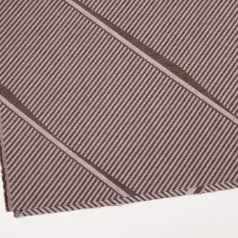 コットン×幾何学模様(ブラウン)×ジャガード_全2色 サムネイル2