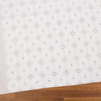 コットン×フラワー(ホワイト)×ローン刺繍_全6色 サムネイル2