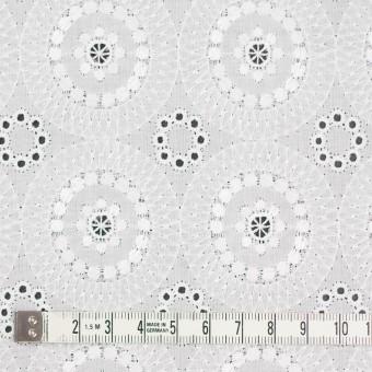 コットン×フラワー(ホワイト)×ローン刺繍_全6色 サムネイル4