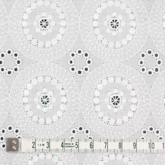 コットン×フラワー(ホワイト)×ローン刺繍_全6色 イメージ4
