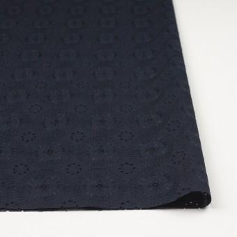 コットン×フラワー(ダークネイビー)×ローン刺繍_全6色 サムネイル3