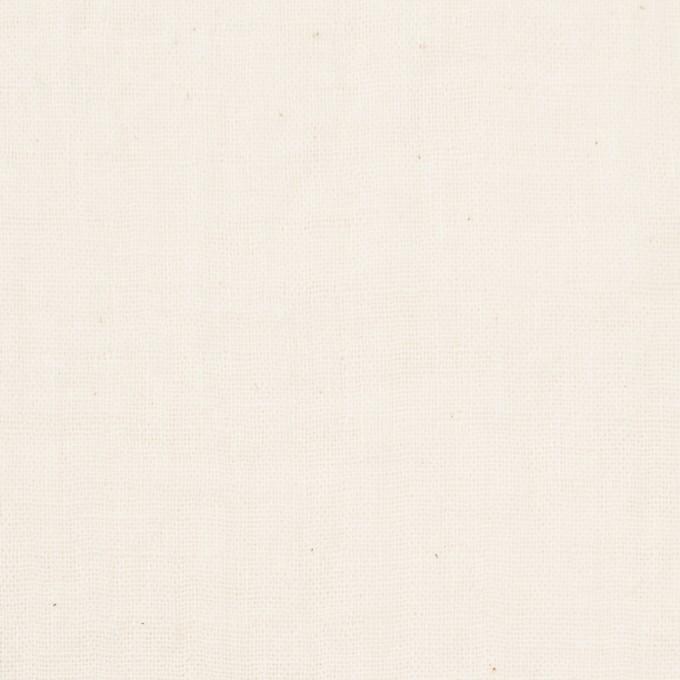 コットン×無地(キナリ)×Wガーゼワッシャー_全20色 イメージ1