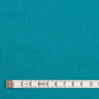 コットン×無地(エメラルドブルー)×Wガーゼワッシャー_全20色 サムネイル4