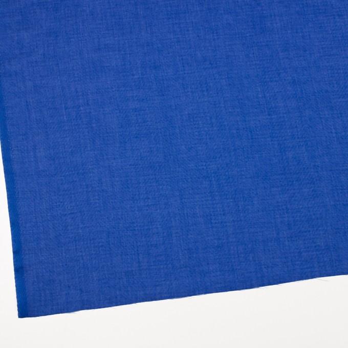 コットン×無地(ロイヤルブルー)×ボイルジャガード_全6色 イメージ2