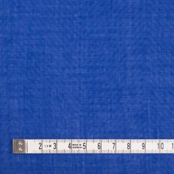 コットン×無地(ロイヤルブルー)×ボイルジャガード_全6色 サムネイル4