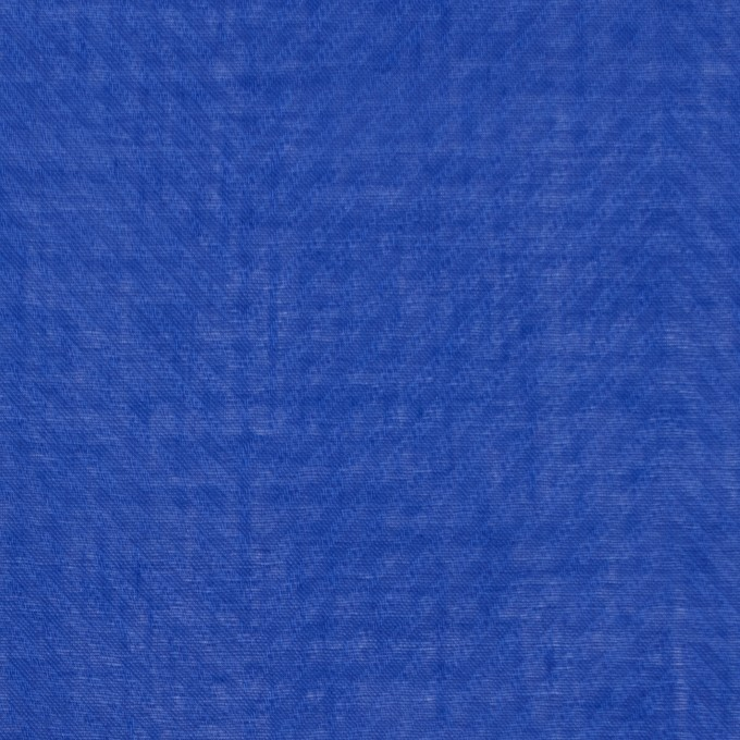 コットン×無地(ロイヤルブルー)×ボイルジャガード_全6色 イメージ1