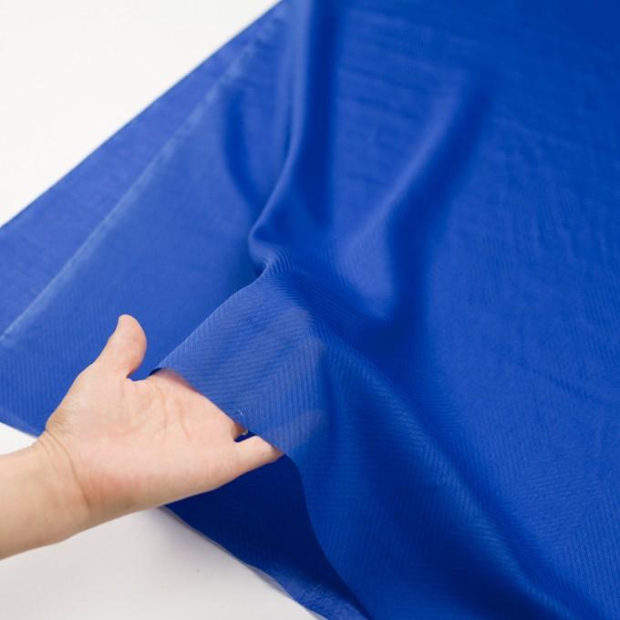 コットン×無地(ロイヤルブルー)×ボイルジャガード_全6色 イメージ5