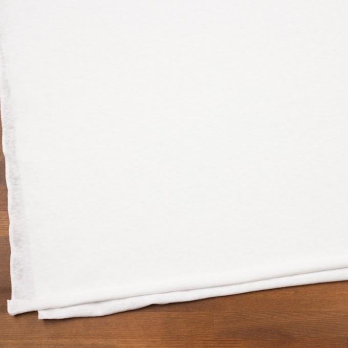 コットン×無地(オフホワイト)×天竺ニット イメージ2