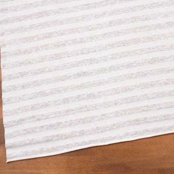コットン&リネン×ボーダー(ホワイト)×天竺ニット_全3色_イタリア製 サムネイル2