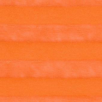 コットン&リネン×ボーダー(キャロット)×天竺ニット_全3色_イタリア製 サムネイル1
