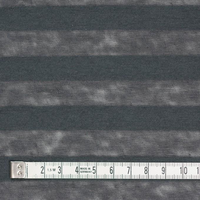 コットン&リネン×ボーダー(グーズグレー)×天竺ニット_全3色_イタリア製 イメージ4